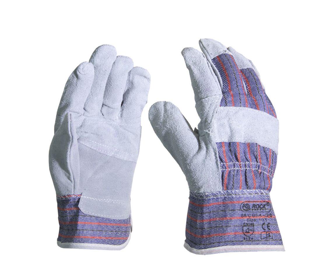 Перчатки ROCK 88/CBSA-G/B кожаные комбинированные ...
